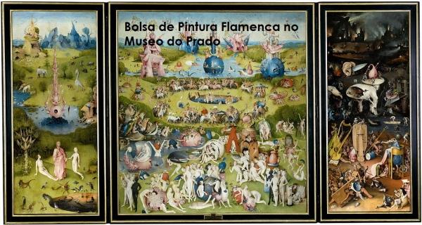 Bolsa de Pintura Flamenca no Museo do Prado