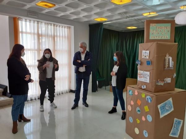 Os Espazos Xoves acollen alumnado en prácticas do ciclo superior de animación sociocultural e turística