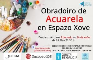 Obradoiro de Acuarela en Ourense