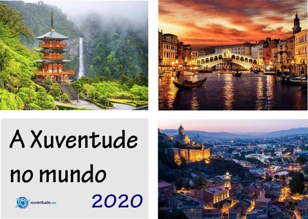 A Xuventude no mundo, edición 2020: intercambios xuvenís a Italia, Xeorxia e Xapón