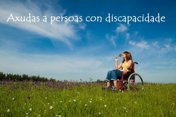 Axudas para a promoción da autonomía persoal de persoas con discapacidade