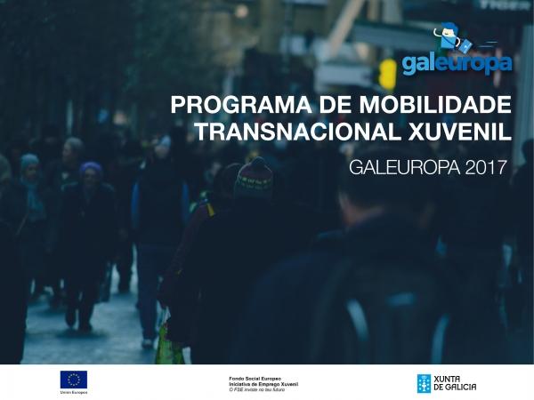 Listado provisional programa mobilidade transnacional xuvenil Galeuropa: axudas individuais á xuventude