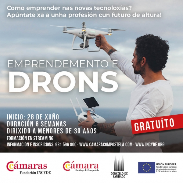 Emprendemento e Drons