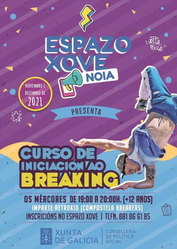 Curso de iniciación ao breaking en Noia
