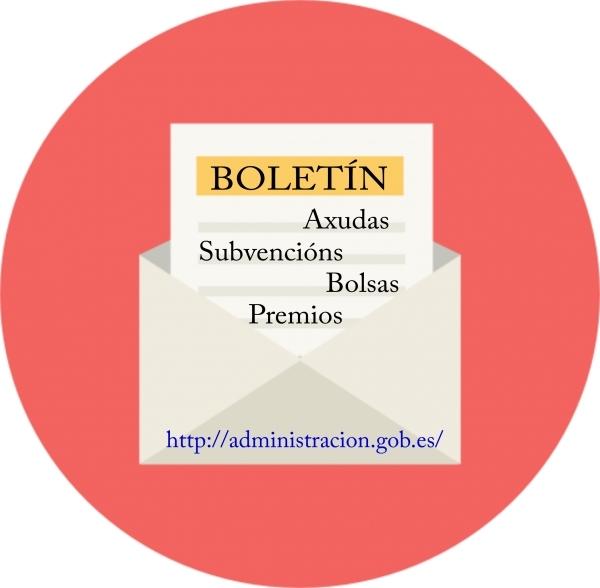 Boletín de axudas, subvencións, bolsas e premios
