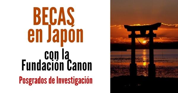 Bolsas de investigación en Xapón