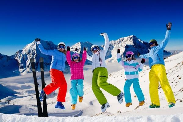 Axudas ás familias numerosas para ir á neve