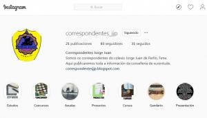 Correspondentes Xuvenís do Colexio Jorge Juan Perlío de Fene