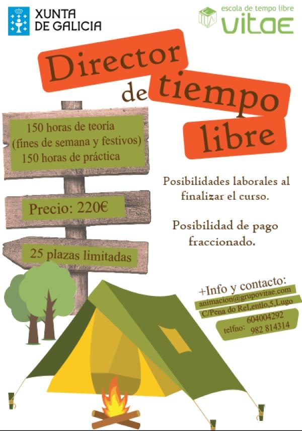 Curso de Director/a de actividades de tempo libre en Lugo da escola Vitae