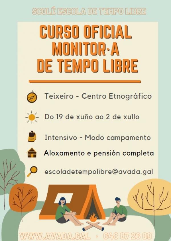 Curso en Teixeiro de Monitor/a de actividades de tempo libre da ETL Scolé