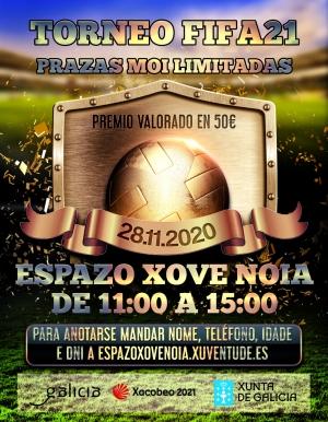 Torneo FIFA21 en Noia