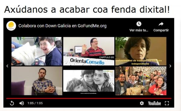 Campaña de micromecenado da Federación Down Galicia