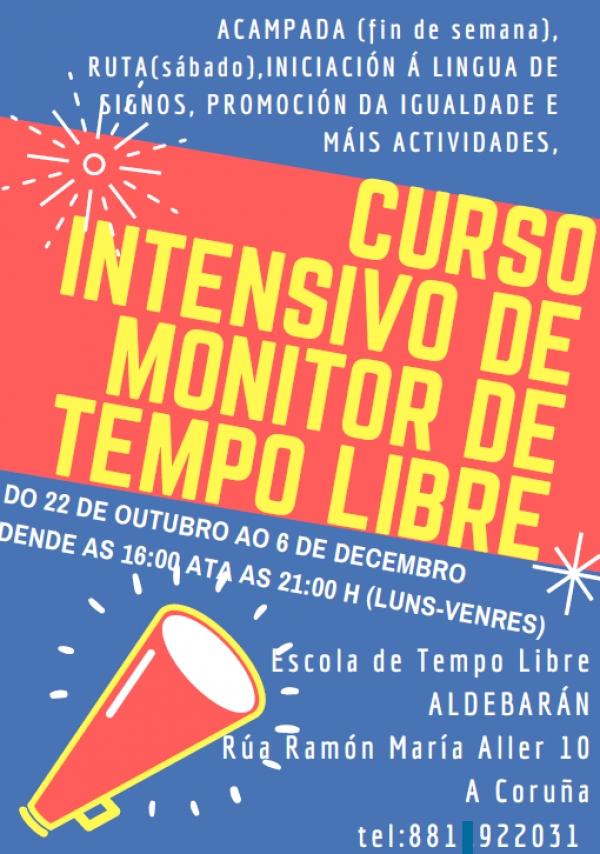 Cursos de monitor de actividades de tempo libre na Coruña