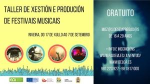 Taller de Xestión e produción de festivais musicais