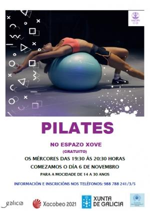 Pilates no Espazo Xove de Ourense