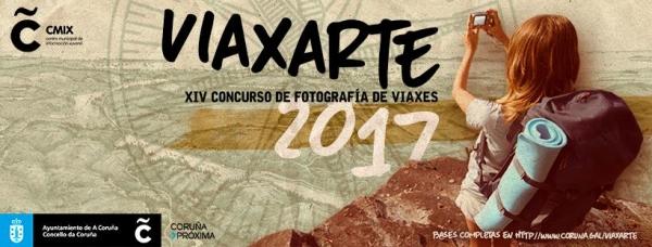 """XIV Concurso de Fotografía de Viaxes """"Viaxarte 2017"""""""
