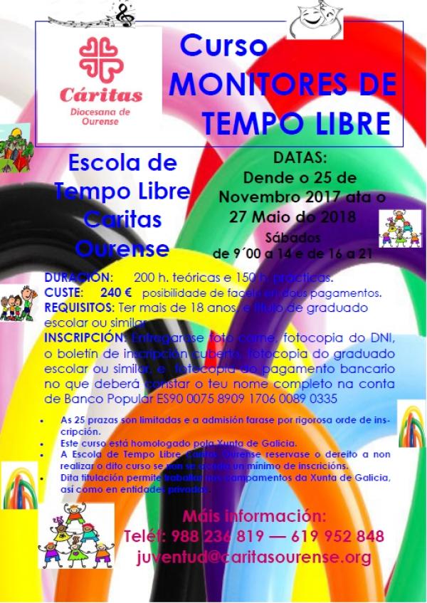 Curso de monitor de actividades de tempo libre en Ourense