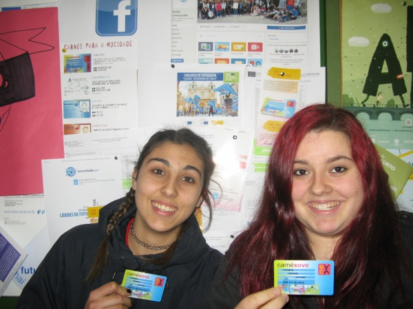 Correspondentes Xuvenís do IES Xunqueira 1 de Pontevedra