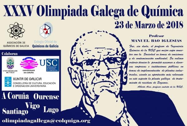 XXXV Olimpiada Galega de Química 2018