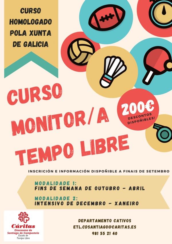 Monitor/a de Tempo Libre en Santiago_ ETL Cáritas