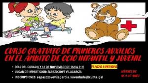 Primeiros auxilios no ocio infantil e xuvenil