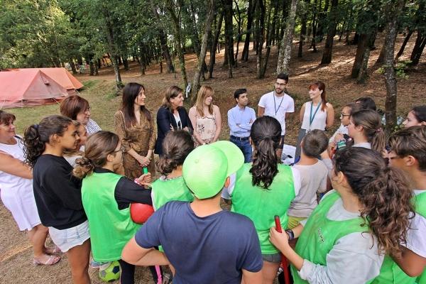 A Xunta salienta a oferta de ocio educativo e de conciliación que supoñen os campamentos xuvenís da Campaña de Verán