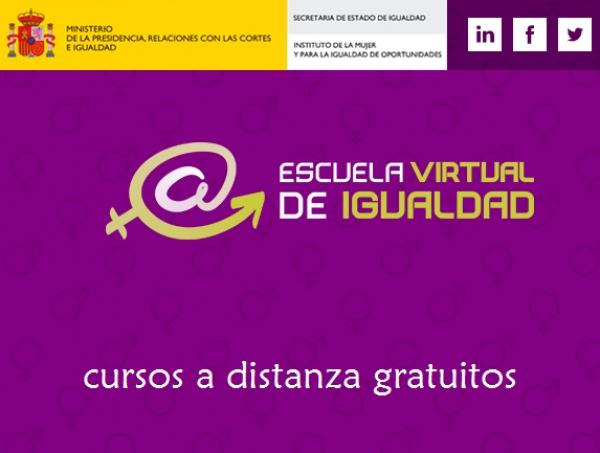 Cursos da Escola Virtual de Igualdade