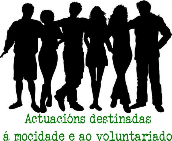 Subvencións a actuacións destinadas á xuventude e ao voluntariado