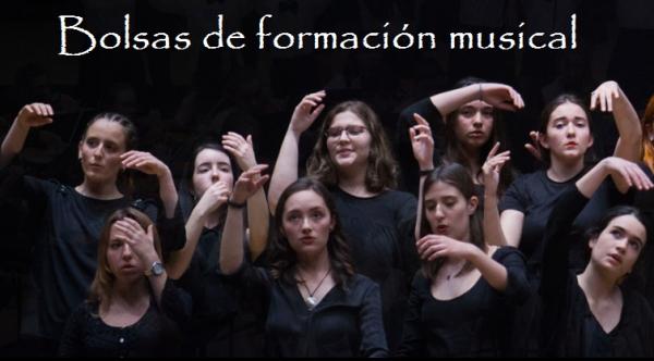 Bolsas de formación musical para residentes no concello da Coruña