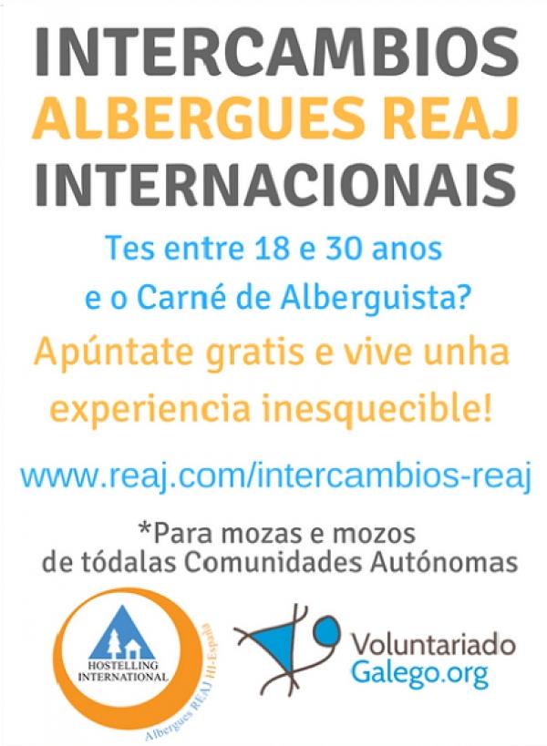 Programa de Intercambios Xuvenís Internacionais REAJ 2019