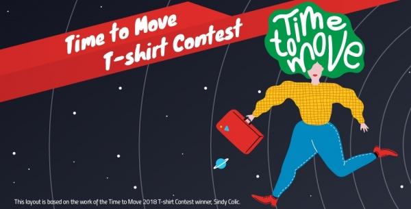 Viaxa gratis por Europa: concurso de camisetas de Time to Move