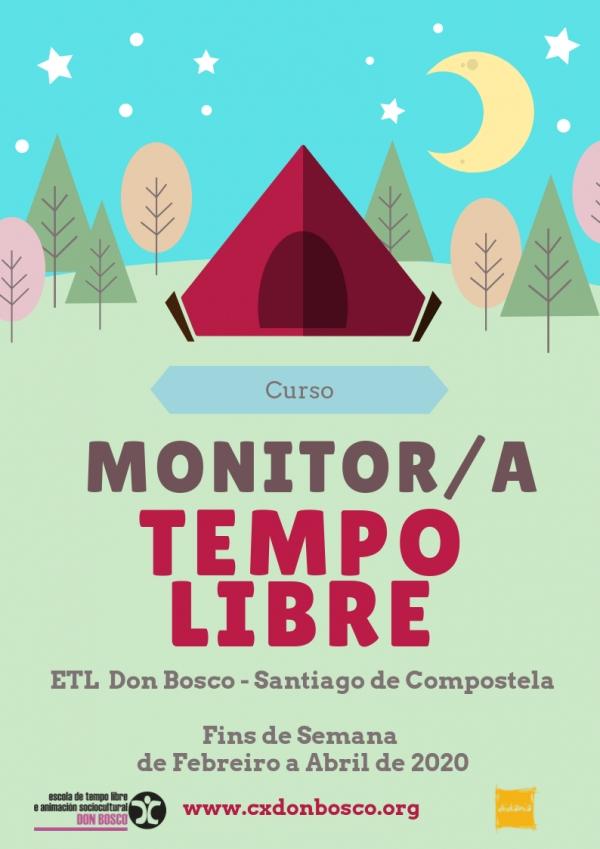 Curso de Monitor/a de actividades de tempo libre de Don Bosco en Santiago de Compostela
