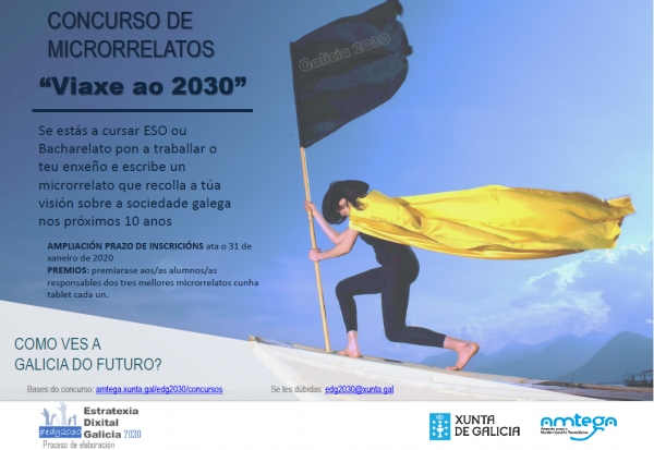 """Concurso de microrrelatos """"Viaxe ao 2030"""""""