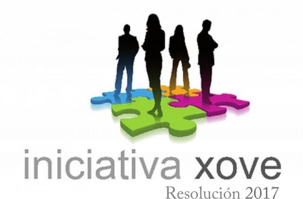 Iniciativa xove: resolución 2017