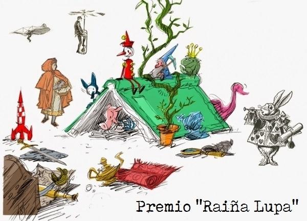 """XV Premio de literatura infantil e xuvenil """"Raíña Lupa"""""""