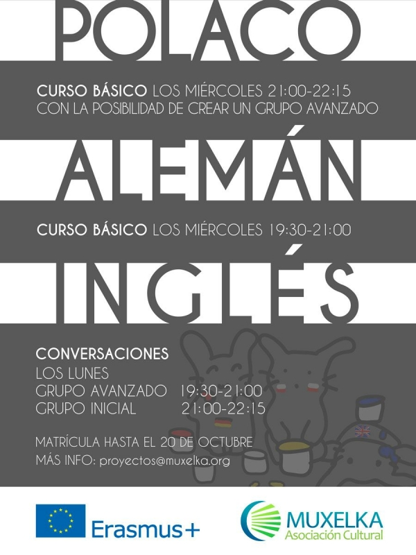 Cursos subvencionados de idiomas na Coruña