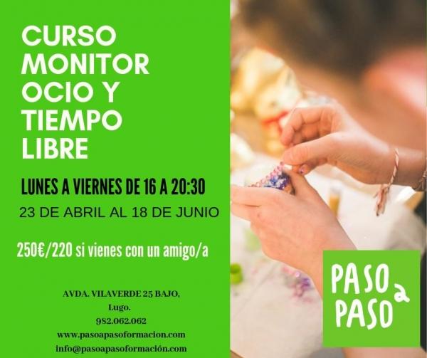Curso de monitor de actividades de Tempo Libre en Lugo