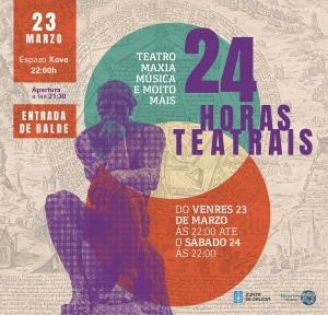 24 horas teatrais no Espazo Xove de Ourense