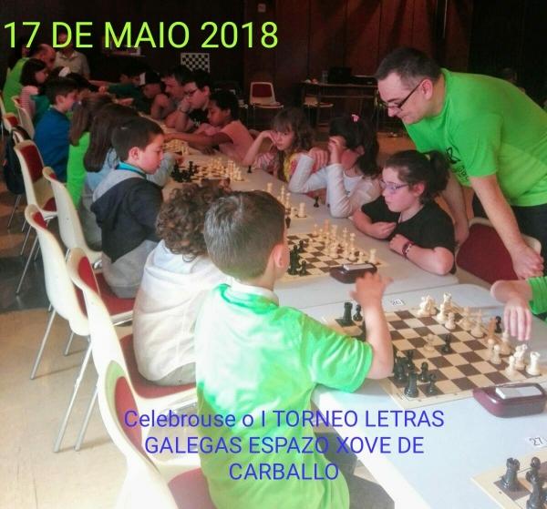 Torneo de xadrez no Espazo Xove de Carballo