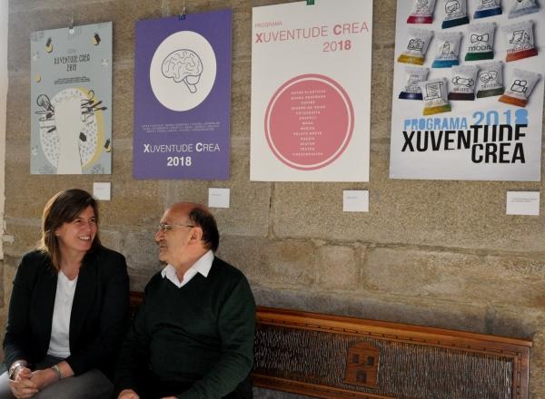 A Xunta expón as obras participantes no concurso do deseño do cartel do programa Xuventude Crea