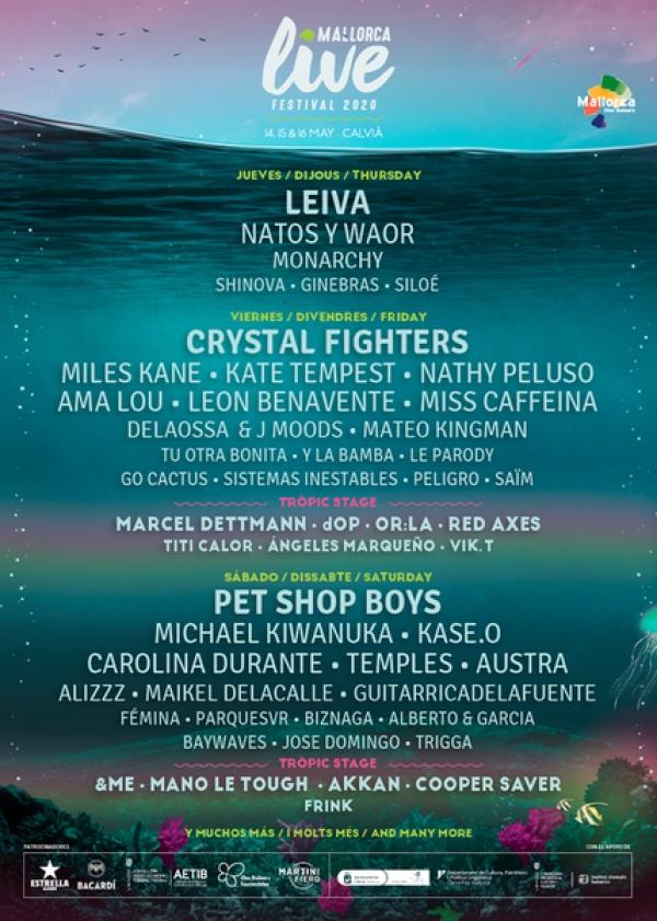 Descontos no Mallorca Live Festival co teu carné xove