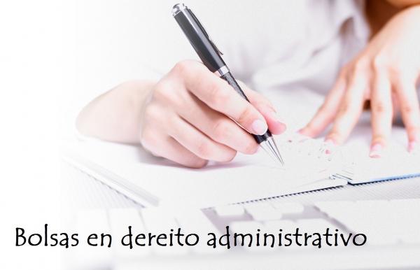 Bolsa de formación en estudos relacionados co dereito administrativo