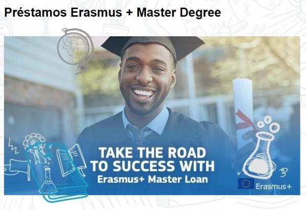 Préstamos Erasmus para estudar un Máster no estranxeiro