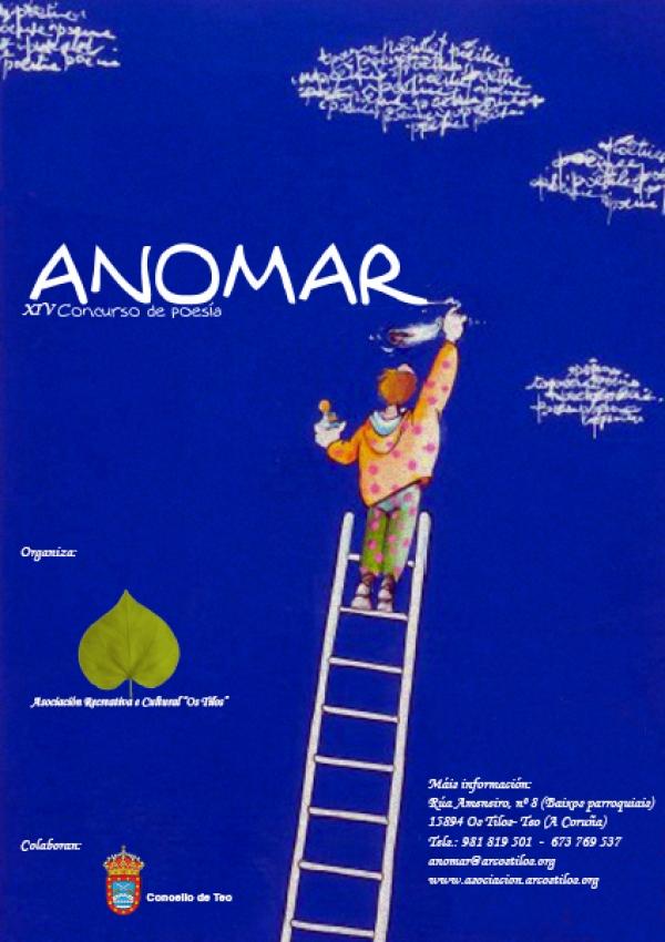 XIV edición do concurso de poesía ANOMAR