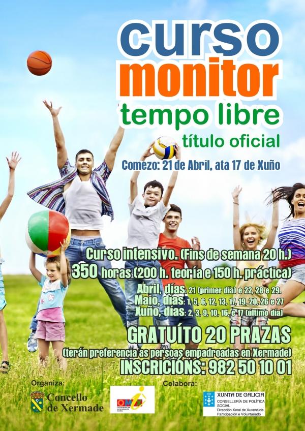 Curso de Monitor/a de actividades de tempo libre en Xermade