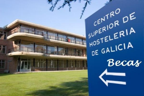 Bolsas para estudos no Centro Superior de Hostalaría de Galicia