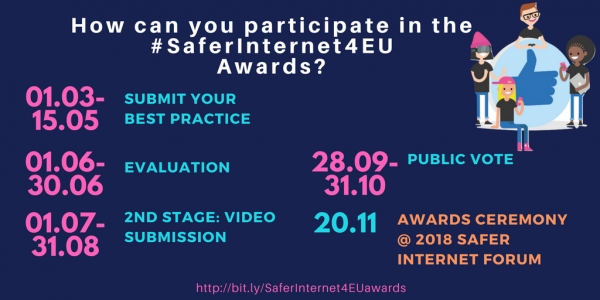 Premios #SaferInternet4EU