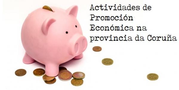Actividades de Promoción Económica na provincia da Coruña