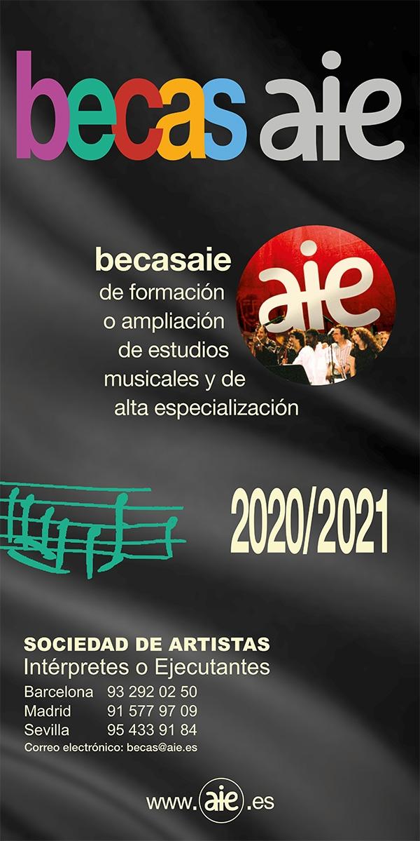Bolsas de estudos musicais en España e no estranxeiro