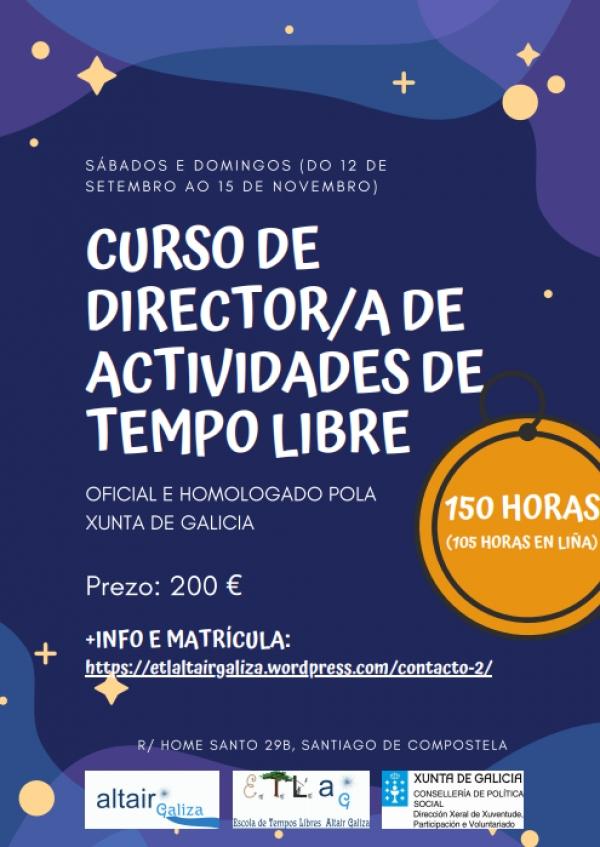 Curso de Director/a de actividades de tempo libre da ETL Altair en Santiago de Compostela